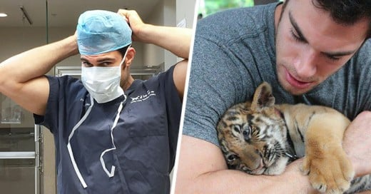 sexy veterinario sorprende en instagram