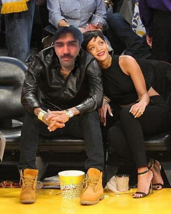 una foto con rihanna