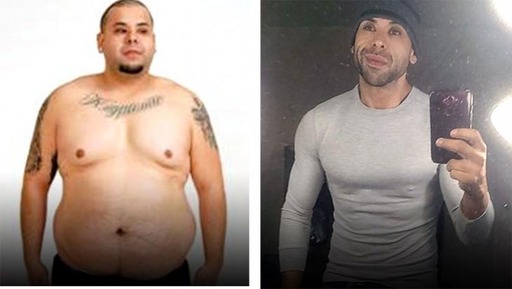 Issac Velarde, logró bajar 70 kilos luego de eliminar de su vida un gran número de traumas que le aquejaban desde la infancia