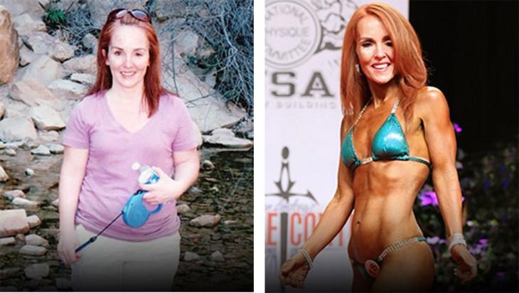 Laura bajó 22 kilos luego de que descubriera que tiene un tumor óseo. Su inspiración la llevó a tener una mejor calidad de vida y salud. Ha concursado en los eventos de culturismo de su ciudad quedando siempre dentro de las 3 finalistas