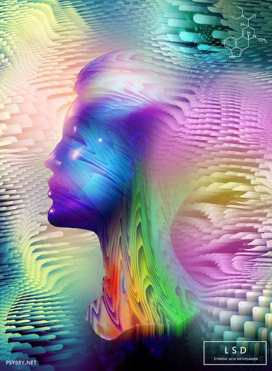 EFECTOS DEL LSD EN EL ARTISTA