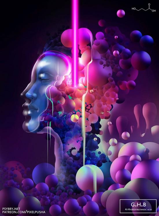 éxtasis líquido y sus repercusiones en el artista