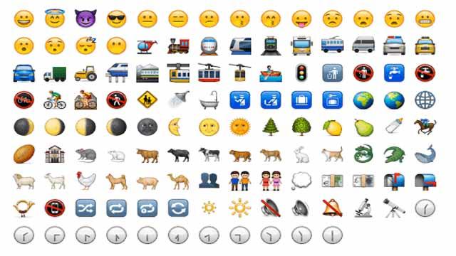 aplicaciones para emoticonos de los 2000