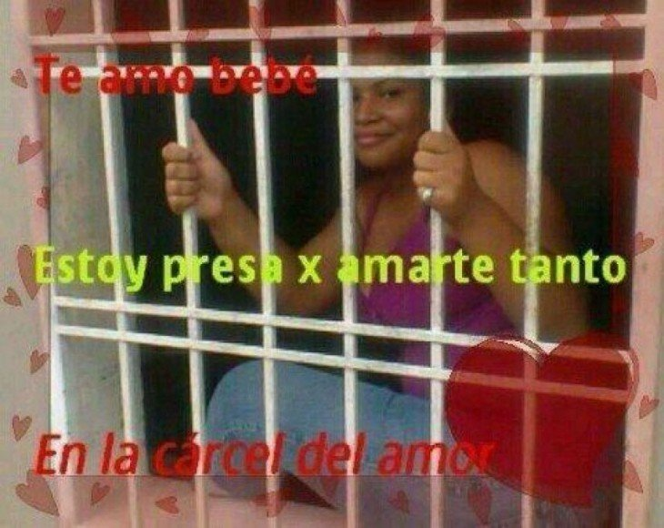 ESTOY PRESA POR AMARTE TANTO
