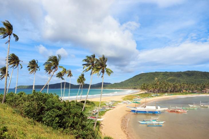 Playa Nacpan Filipinas