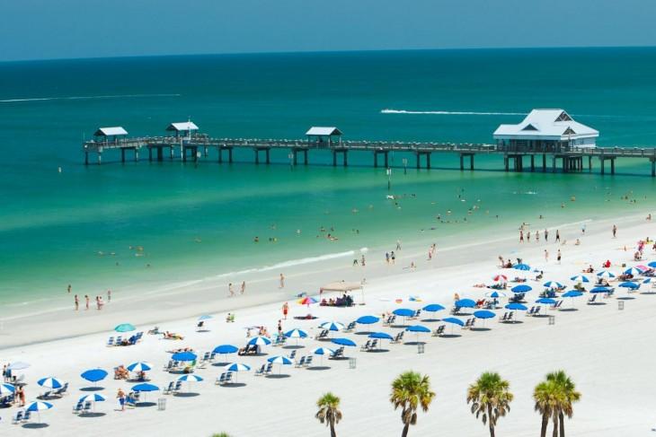 Clearwater playa Florida