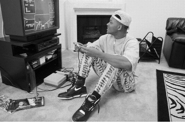 WILL SMITH JUGANDO NINTENDO