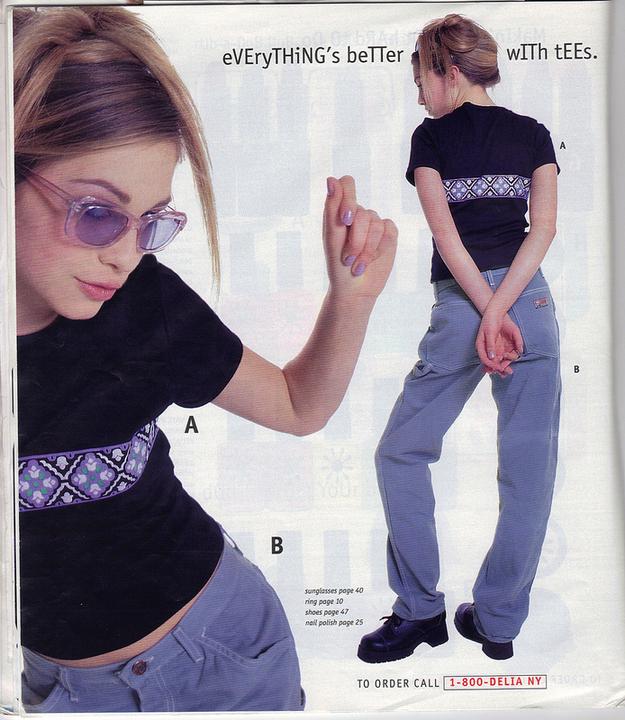 LOOK DE ADOLESCENTES DE LOS 90'S