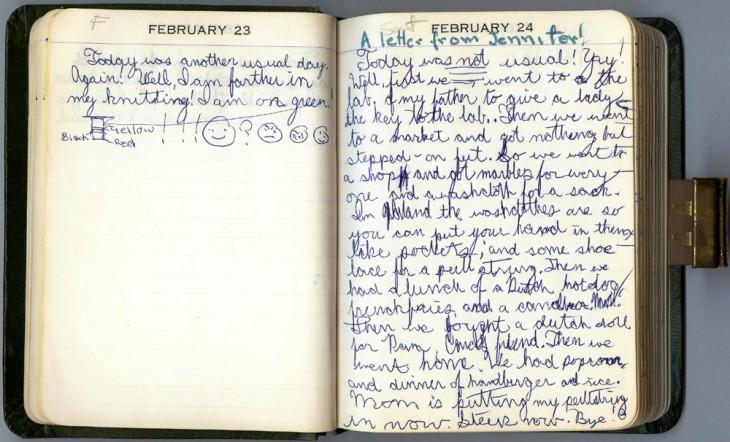 Lleva un diario de tus actividades