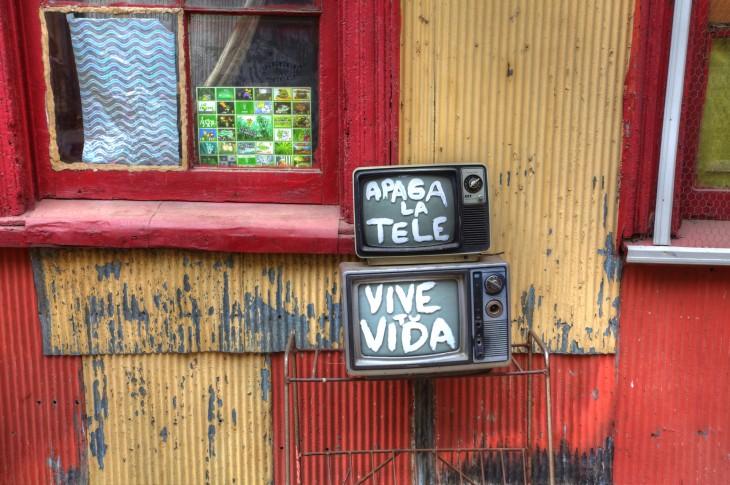 APAGA LA TELEVISIÓN DURANTE UN MES Y VIVE TU VIDA