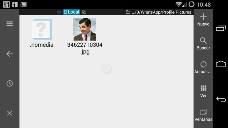 Cómo cambiar la foto de perfil de whatsapp de un amigo