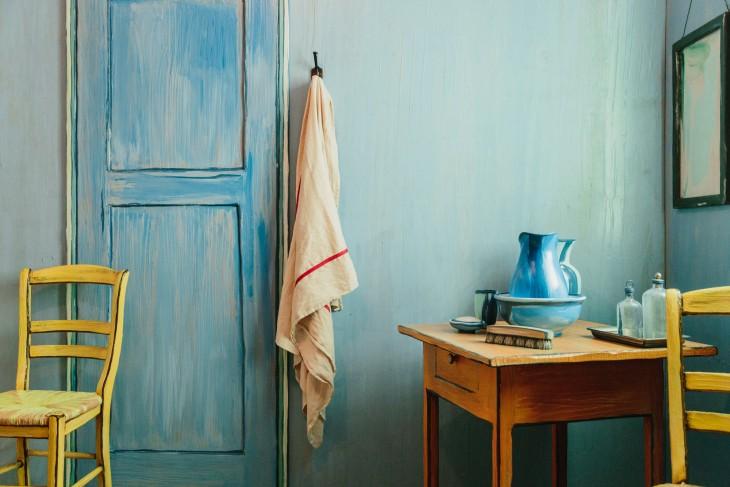 Detalles de la habitación de Vicent Van Gogh