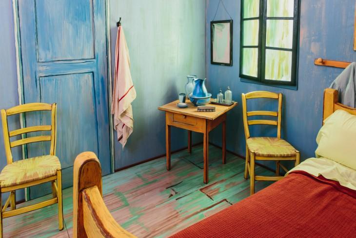 """Instituto de Arte de Chicago creo una réplica de la pintura """"el dormitorio"""" del pintor Vicent Van Gogh"""