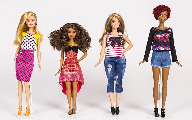 Muñecas Barbie, los 5 modelos que se añadieron a la colección fashionistas de Barbie Mattel