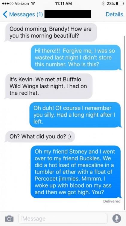 Segunda conversación con Brandy