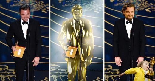 batalla de photoshop a Leonado DiCaprio