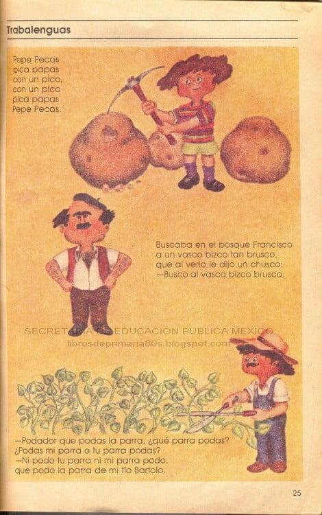 CUENTOS MEXICANOS. TRABALENGUAS CLÁSICOS DE LOS 80'S 90'S.
