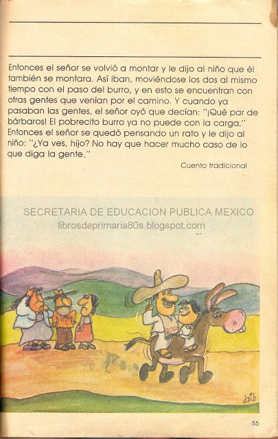 CUENTOS MEXICANOS. EL SEÑOR, EL NIÑO Y EL BURRO. SEGUNDA PARTE