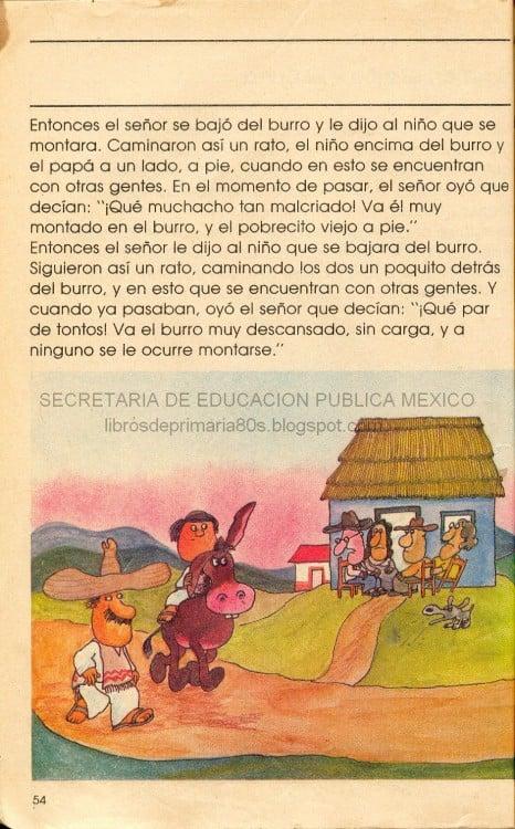 CUENTOS MEXICANOS. EL SEÑOR, ELNIÑO Y EL BURRO. TERCERA PARTE.