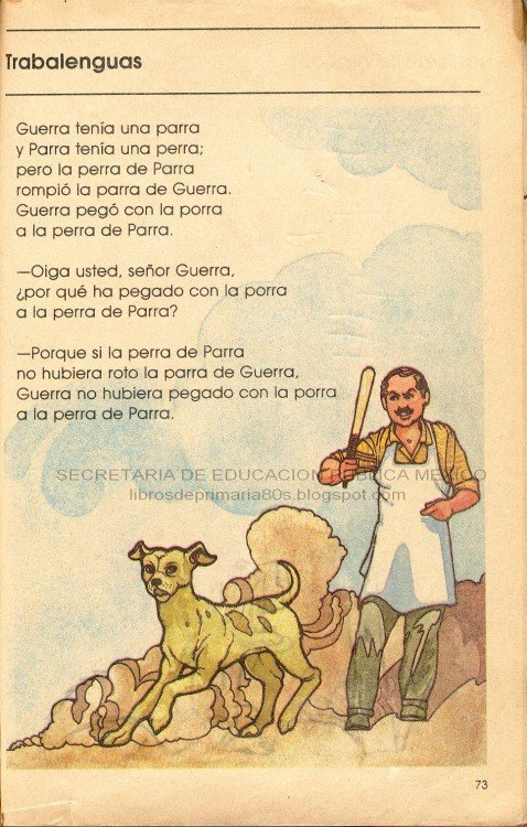 CUENTOS MEXICANOS. LA PERRA DE PARRA