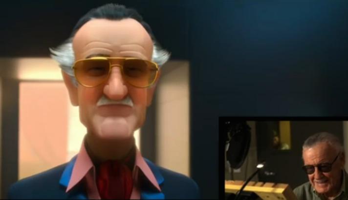 Cameo de Stan Lee en la película Big Hero 6 en el 2014