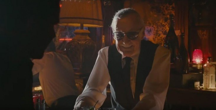 Cameo de Stan Lee en la película de Ant-Man en el 2015