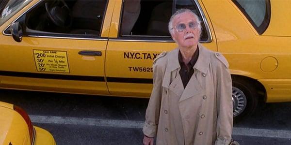 Cameo de Stan Lee en la película Spider-Man 2 en el 2004