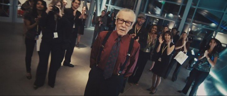 Cameo de Stan Lee en la película de Iron Man 2 en el 2010