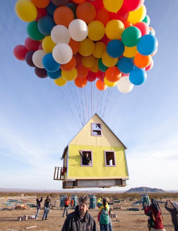 La casa de la película UP en la vida real