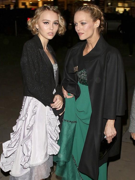 Vanessa Paradis y Lily Rose Depp