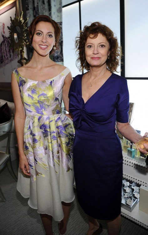 Susan Sarandon y su hija Eva Amurri