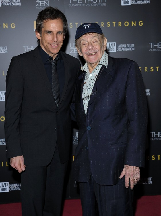 Jerry Stiller y Ben Striller