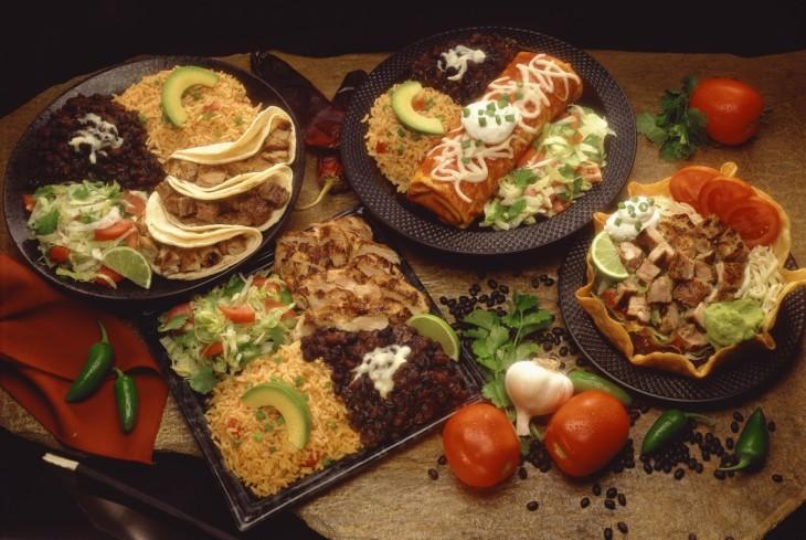 platillos de comida tradicional mexicana