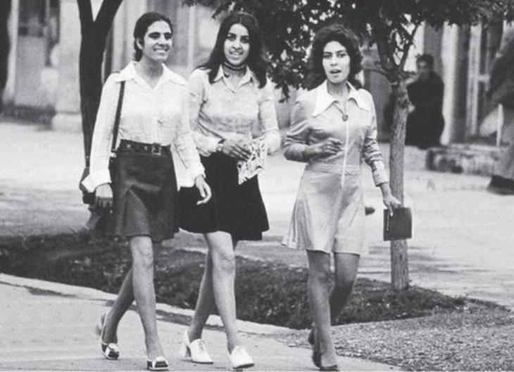 Así se vestían en Irán en 1970