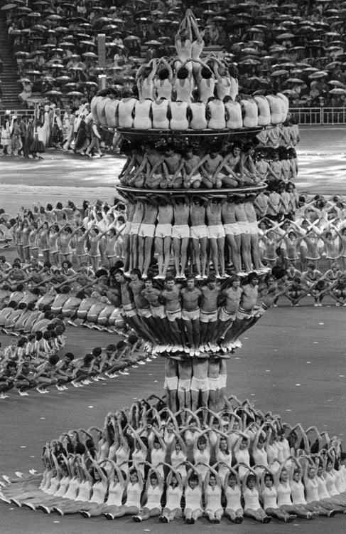 INAUGURACIÓN DE LOS JUEGOS OLÍMPICOS. 1980