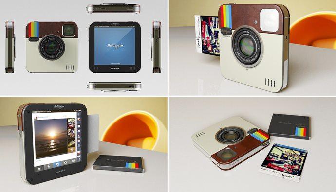 Cámara Fotográfica Instantánea Polaroid Socialmatic en su versión de instagram