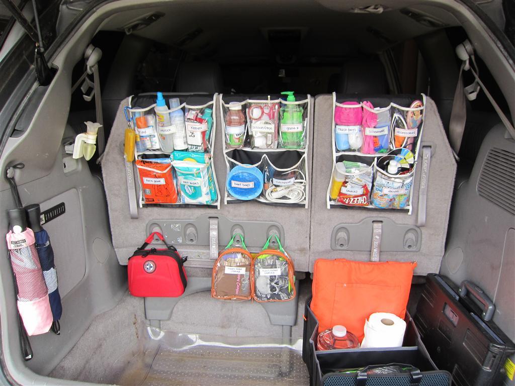 Increíbles ideas para mantener un carro organizado