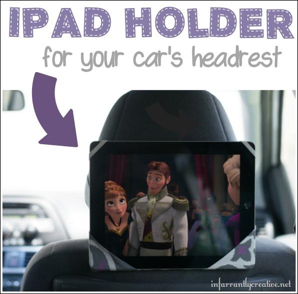 soporte de asiento para iPad