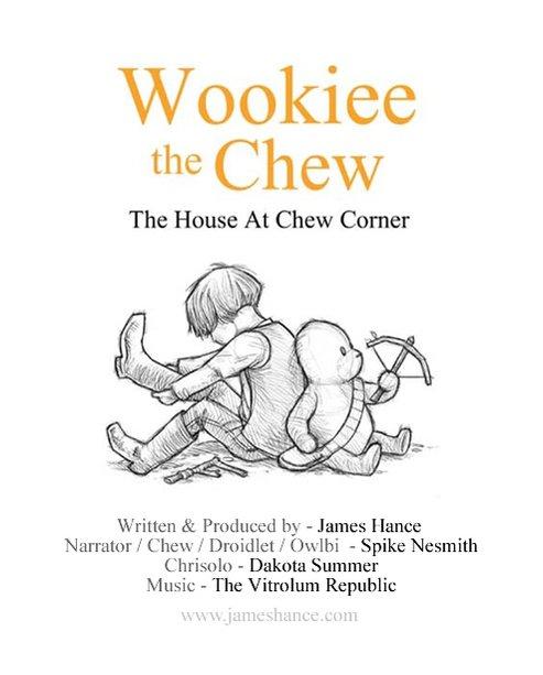 """Proyecto artístico """"Wookiee the Chew"""" por el ilustrador James Hance"""