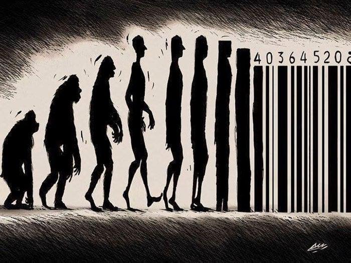 Imágenes sátiras de la evolución del hombre (11)