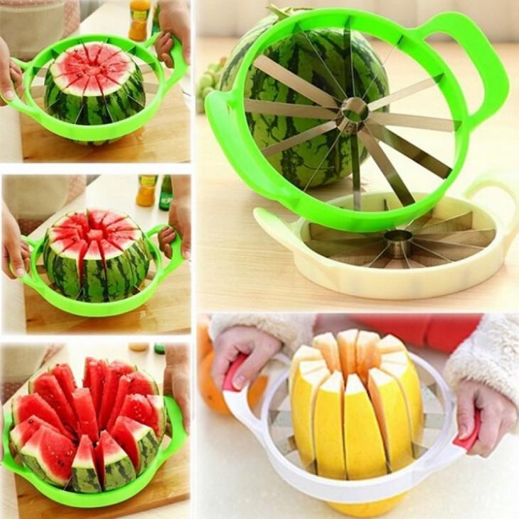 utensilio de comida para cortar sandías y melones