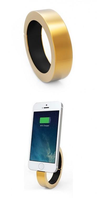 pulsera que se convierte en un cargador para tu celular