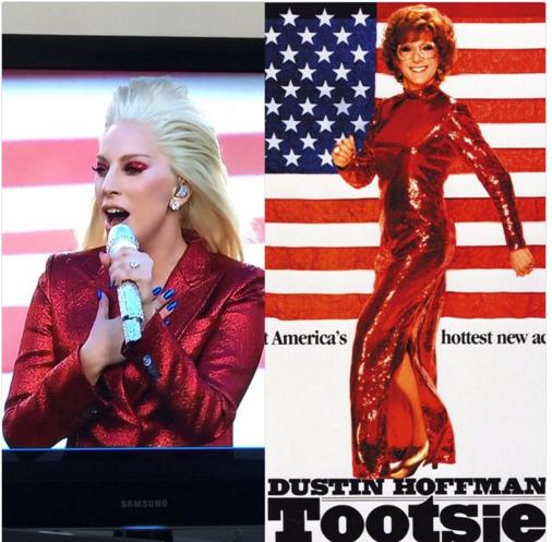 Tootsie compara con Gaga