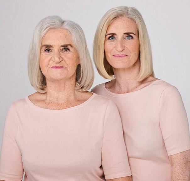 Esther y su hija Wendy