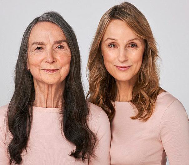 Frances y su hija Tineka