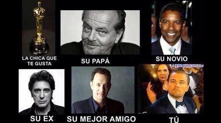 Los mejores memes de los Oscars 2016 sobre Leonardo DiCaprio