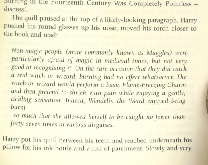 texto mal alineado del libro harry potter y el prisionero de Azkaban