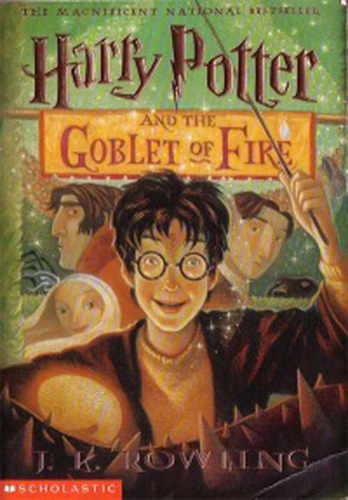 Libro Harry Potter y el cáliz de fuego (Scholastic)