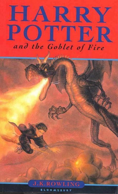 portada del libro Harry Potter y el cáliz de fuego