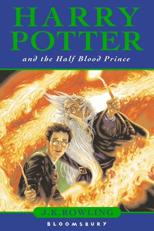ejemplar del libro Harry Potter y el Príncipe Mestizo